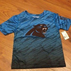 Other - Carolina Panthers short sleeved shirt size 4